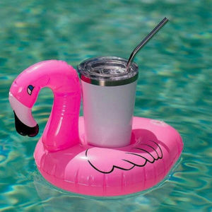 Other - 2 Inflatable Pink Flamingo Cup Holder
